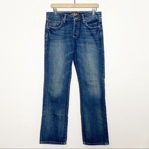 Lucky Brand 221 Original Straight Button Fly Jeans